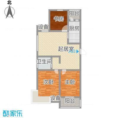 财富广场聚园115.00㎡财富广场聚园户型图c3室2厅1卫1厨户型3室2厅1卫1厨