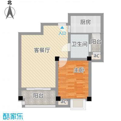 旺府公寓72.00㎡旺府公寓户型图1室2厅1卫1厨户型10室