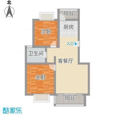 随园锦湖公寓93.96㎡随园锦湖公寓户型图B型(售完)2室2厅1卫1厨户型2室2厅1卫1厨