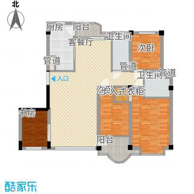 香洲心城152.30㎡香洲心城户型10室