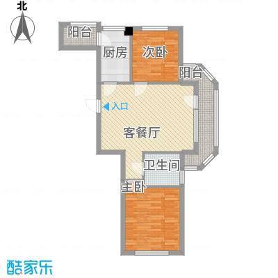 同香山庄同香山庄户型图2室户型图2室2厅1卫1厨户型2室2厅1卫1厨