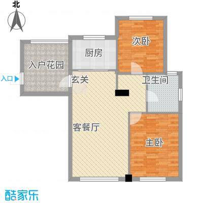 宏昌公寓宏昌公寓户型图2室户型图2室2厅1卫1厨户型2室2厅1卫1厨