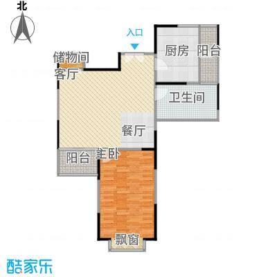 扬子江家园80.00㎡房型: 一房; 面积段: 80 -90 平方米;户型