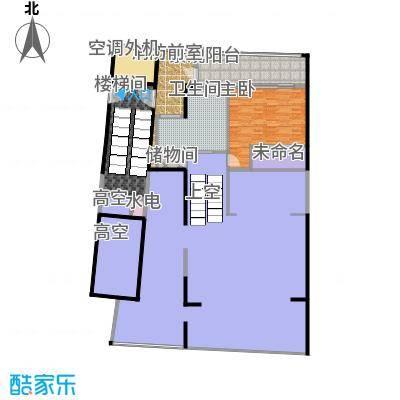 中信・半岛云邸240.00㎡2-D 2F 三房两卫 建筑面积约:240㎡户型3室2厅2卫