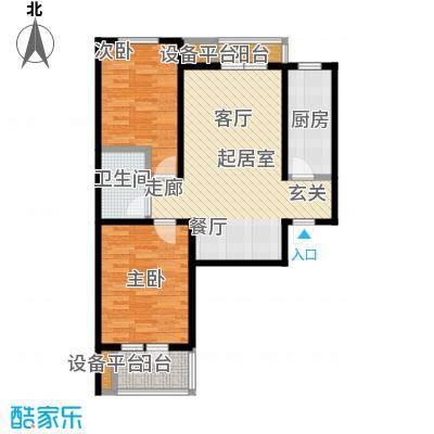众美凤凰城Ⅱ期94.01㎡12号楼(1-04)户型