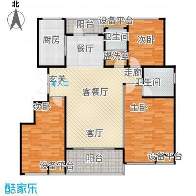 唐正・四季花园131.46㎡G2户型3室2厅2卫