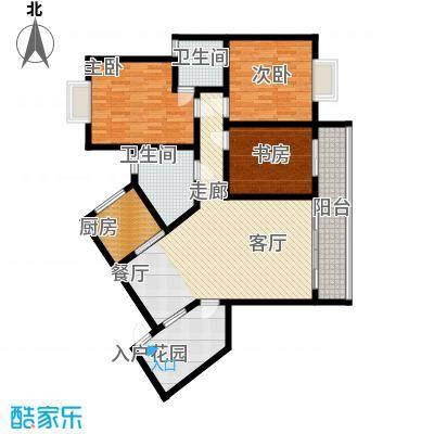 6#E1型:3房2厅2卫