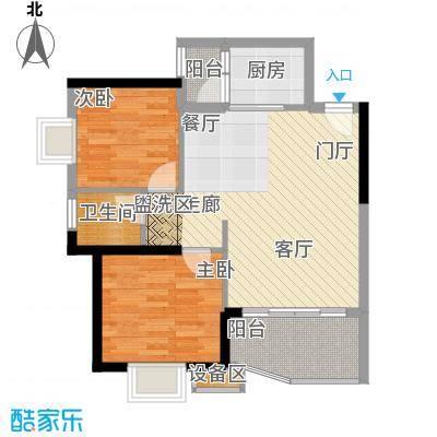 怡禾新天地77.73-78.22平方米户型2室2厅1卫