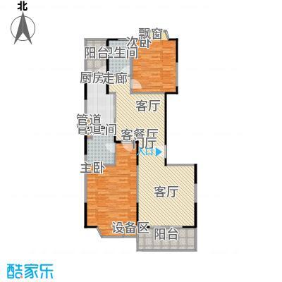 公园养生豪庭111.31-112.76平方米二房户型