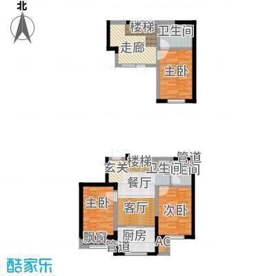 帝景嘉园108.36㎡二期户型-B1g户型