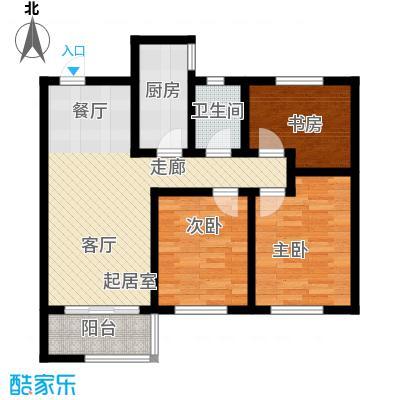 长九中心公园9号98.00㎡8-B-奇数层户型10室