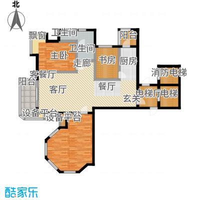 心海假日视界200828#37#楼标准层单户图4户型