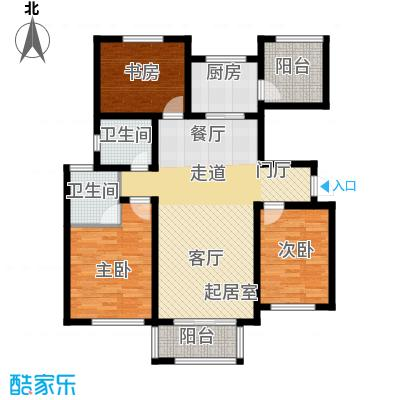 长九中心公园9号122.00㎡8#A奇数层户型10室
