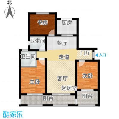 长九中心公园9号122.00㎡8#A\\\'偶数层户型10室