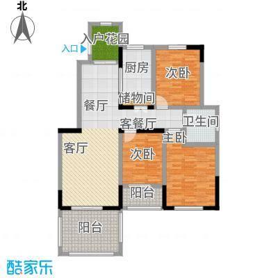 开元新城户型3室1厅1卫1厨
