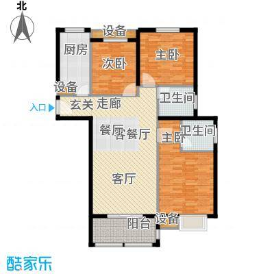 金上海湾3室2厅2卫