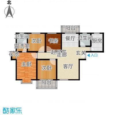 4室2厅2卫 149.76m²