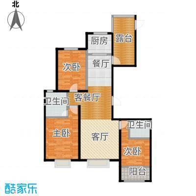 天成・明月洲103.00㎡户型10室