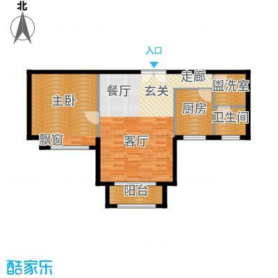 环球翡翠湾花园70.00㎡房型: 一房; 面积段: 70 -70 平方米; 户型