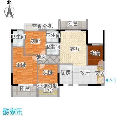 中央城4室2厅3卫