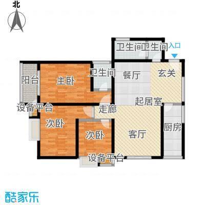 合泰花园(金仕雅筑)136.00㎡A户型136户型