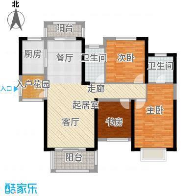 中祥玖珑湾114.82㎡户型10室