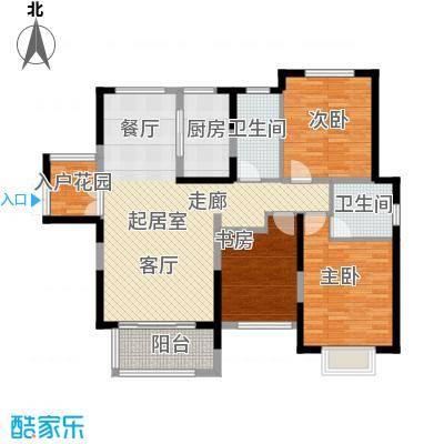 中祥玖珑湾113.16㎡户型10室