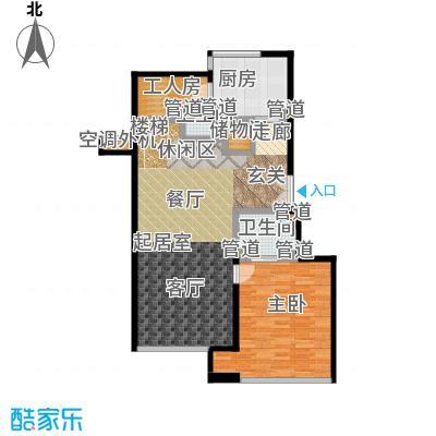 康桥半岛(五期)188.00㎡房型: 复式; 面积段: 188 -235 平方米;户型