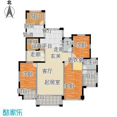 华森丽江豪庭丽江豪庭3号楼三房户型