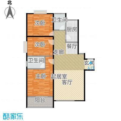 江林公园里137.90㎡B3-11户型10室