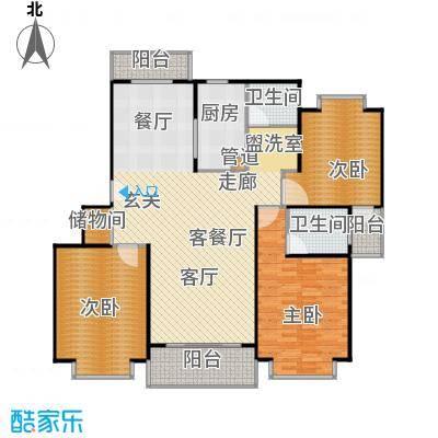 爱盛家园137.00㎡房型: 三房; 面积段: 137 -146 平方米; 户型