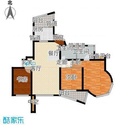 万源杰座80.60㎡房型: 二房; 面积段: 80.6 -118.7 平方米; 户型