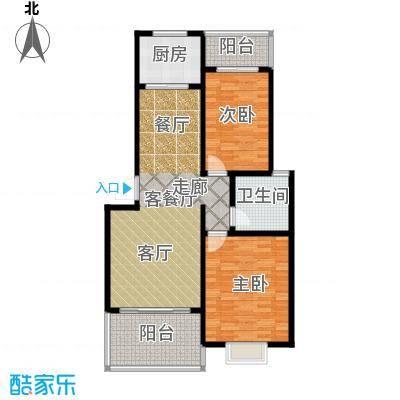 锦绣东城94.12㎡户型10室