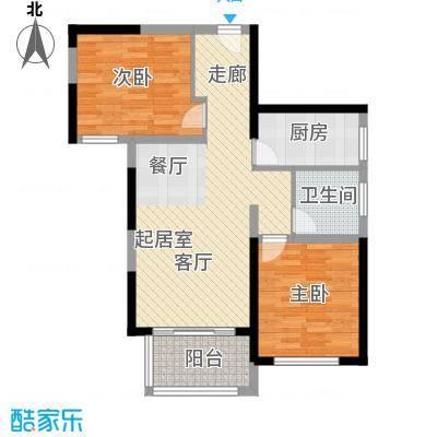 中祥玖珑湾74.44㎡户型10室