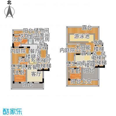 翠屏国际城170.30㎡复式-201平方米-1套户型