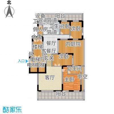 翠屏国际城172.00㎡四房二厅二卫-243平方米-37套户型