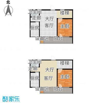 滨河雅园142.50㎡7号楼 三室两厅两卫户型3室2厅2卫