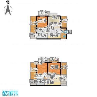 建发・天府鹭洲109.00㎡D1-2产权面积109平米实得172平米户型