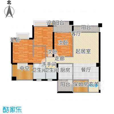 建发・天府鹭洲102.90㎡舒适三房户型3室2厅2卫