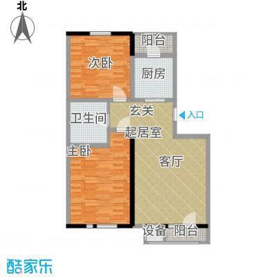 朝阳绿茵 朝阳上品100.00㎡房型: 二房; 面积段: 100 -120 平方米;户型