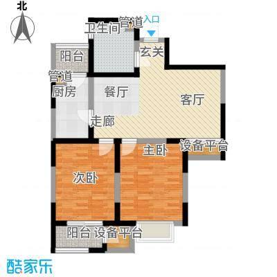 格调竹境2-J 约102平米户型