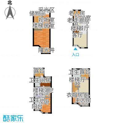 江水西岸户型5室1厅3卫