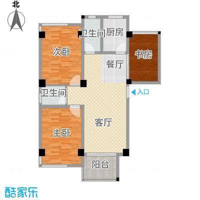 锦绣嘉园88.95㎡B单身公寓9#02/06单元10#02/06单元户型3室1厅2卫1厨