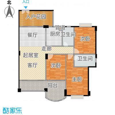 金朗华庭123.7-125.12平米户型3室2厅2卫