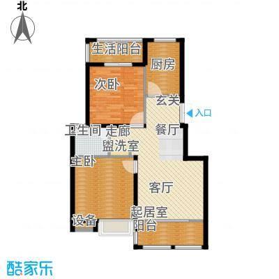 金上海湾2室2厅1卫