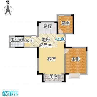 中交上东湾90.00㎡顶层-A01户型1室1厅1卫