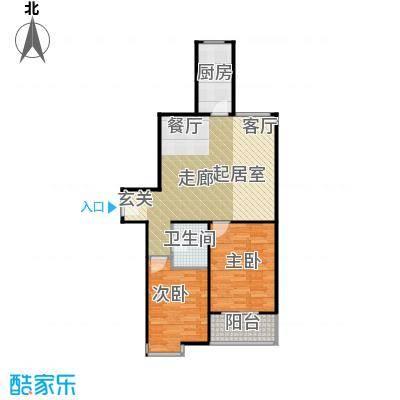 江林公园里99.76㎡3期7号楼D4户型10室