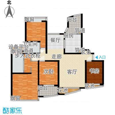 万源杰座139.84㎡房型: 三房; 面积段: 139.84 -145.75 平方米; 户型