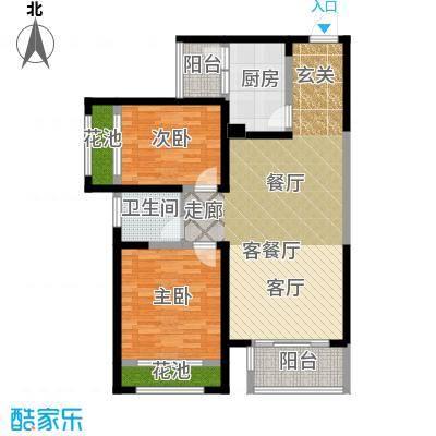 国宾中央区95.00㎡户型10室