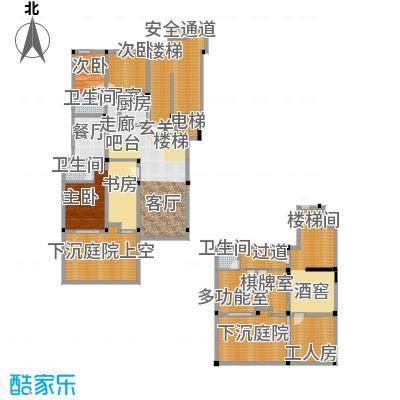 金上海湾172.00㎡4室2厅2卫